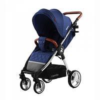 Коляска прогулочная CARRELLO Milano CRL-5501 Velvet Blue +дождевик L