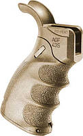 Рукоятка пистолетная FAB Defense AGF-43S тактическая складная для M4/M16/AR15. Цвет - песочный
