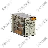 Реле FINDER 55.32.8.024.0040, 24VAC, 10А/250VAC 10А/30VDC