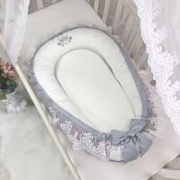 Кокон для новорожденных Royal пудра