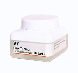 Тонуючий крем для обличчя з вітамінним комплексом Dr.Jart+ V7 Pink cream Toning