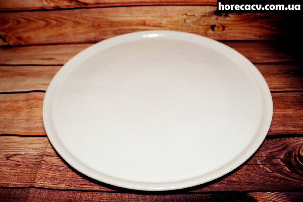 Тарелка для пиццы фарфоровая Helios 325 мм (HR1195)