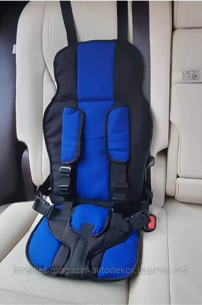 Бескаркасное автокресло, детское удерживающее устройство.