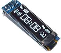 "OLED 0.91"" LCD ЖК дисплей 128x32 - белый"
