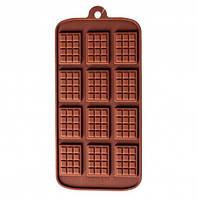 Силиконовая формы для шоколада, 12 плиток