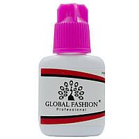 Клей для наращивания ресниц Global Fashion 10 г, гипоалергенный