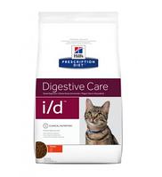 Hill's I/D Gastrointestinal Хиллс Гастроінтестінал для котів прі захв. ШКТ, панкреатит, відновлення, 0,4 кг