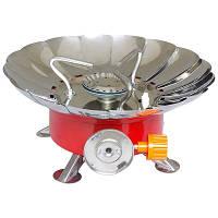 Газовая плитка портативная YC-301, мини печка походная под баллон