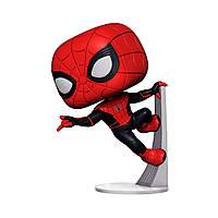 Игровая фигурка Funko Pop серии Человек-паук в обновленном костюме 9,6 см (39898)