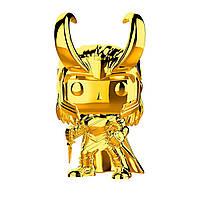 Игровая фигурка на клипсе Funko Pop! серии Золотой хром - Локи 9.6 см (33435)