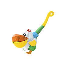 Игрушка-каталка Kiddieland Пеликан-затейник со светом и звуком на украинском языке (054916)