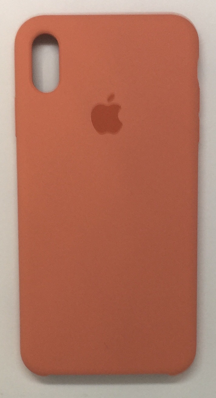 "Чехол Silicon iPhone Xr - ""Персиковый №27"""