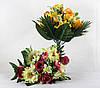 Троянда з ромашкою два кольори 16 голів, фото 4