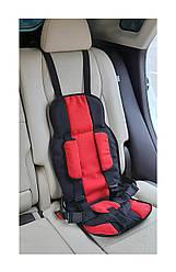 Бескаркасное детское автокресло MHZ 9-36 кг, красный