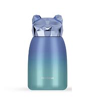 "Детская термопляшка HELLO DREAM Crystal Bear термос ""Хрустальный мешка"" 320 мл Синий (SUN6501)"