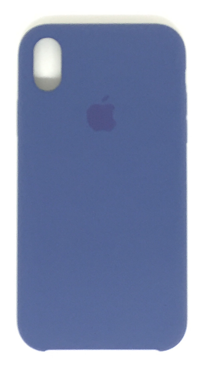 "Чехол Silicon iPhone Xr - ""Alaska blue №57"""