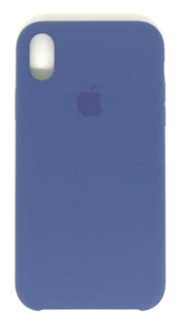 "Чохол Silicon iPhone Xr - ""Alaska blue №57"""