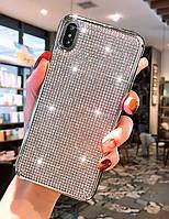 Силиконовый чехол с камнями дляHuawei P Smart