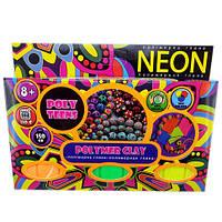 Набор полимерной глины для лепки Poly Teens Neon РТ00002