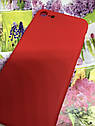 Apple Iphone 7 чехол / бампер / накладка цветной силиконовый матовый красный, фото 3