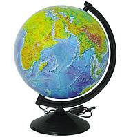 Глобус ІПТ Фізичний з підсвічуванням 260 мм (4820114952769)