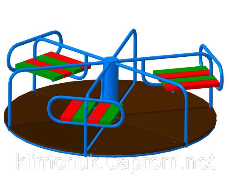 Карусель для дитячих ігрових майданчиків KidSport
