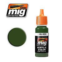 Краска для моделей. Советский светло зеленый 17 мл. AMMO MIG A.MIG-933
