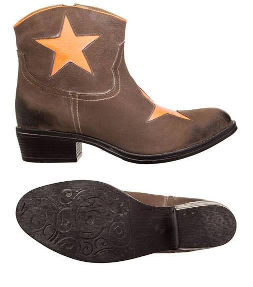Жіночі черевики XYXYX Stiefelette 41 Brown, фото 2