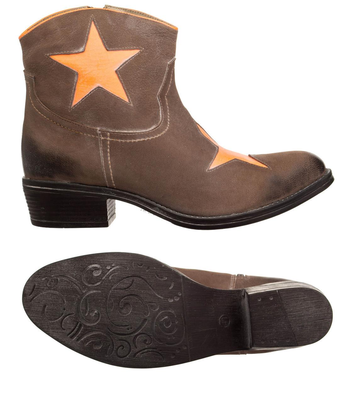 Жіночі черевики XYXYX Stiefelette 41 Brown