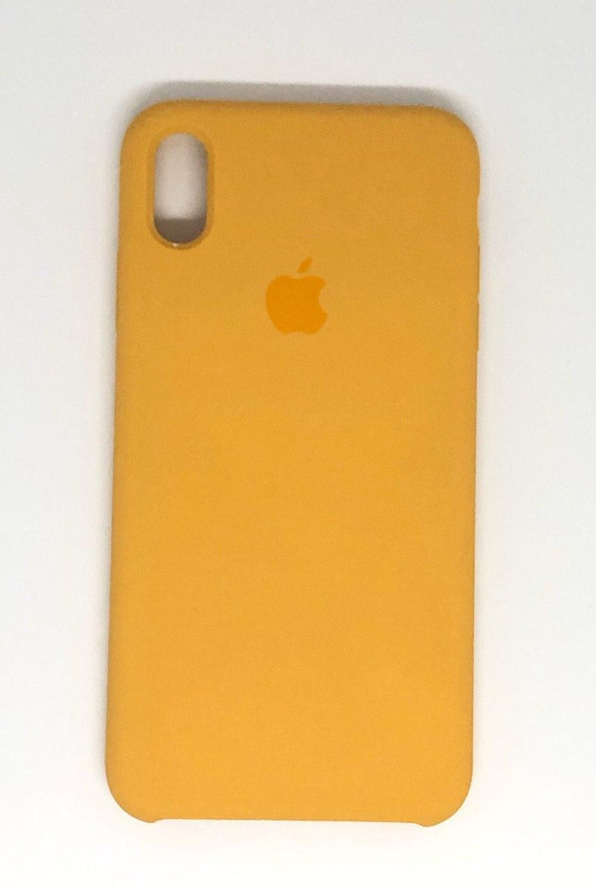 "Чехол Silicon iPhone Xs - ""Дыня №55"""