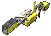 АБЗ мобильный асфальтобетонный завод непрерывного типа TTC 140 т/ч