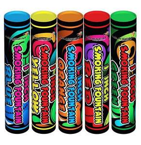 Цветные дымы набор 5 цветов 60 сек MA 0511 / mix