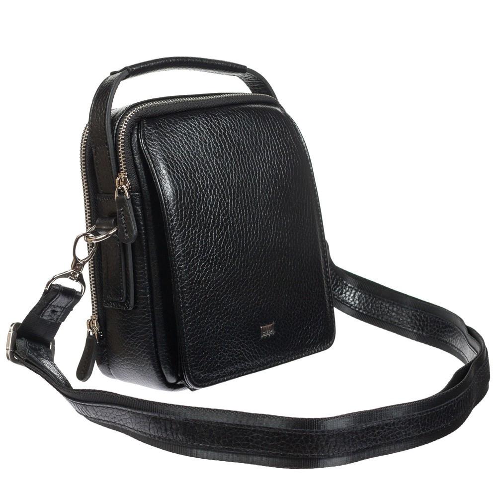 Кожаная мужская сумка с ручкой Desisan