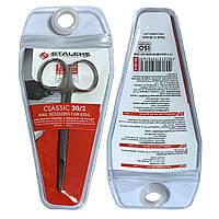 """Ножницы детские STALEKS CLASSIC 30/2 (21mm/0.83"""") СТАЛЕКС"""