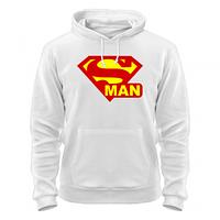Толстовка молодёжная с нанесением Супермен худи Superman