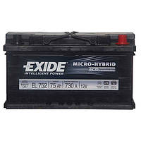 Акумулятор Exide Micro-Hybrid 75AH/730A (EL752)