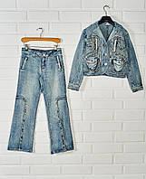 Костюм джинсовый для девочки, фото 1