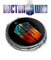 Карманное зеркало DW Доктор Кто / Doctor Who