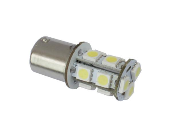 Автомобильные светодиодные лампы AutoApp. Светодиодная лампа повышенной мощности 457 S25 13leds 5050SMD