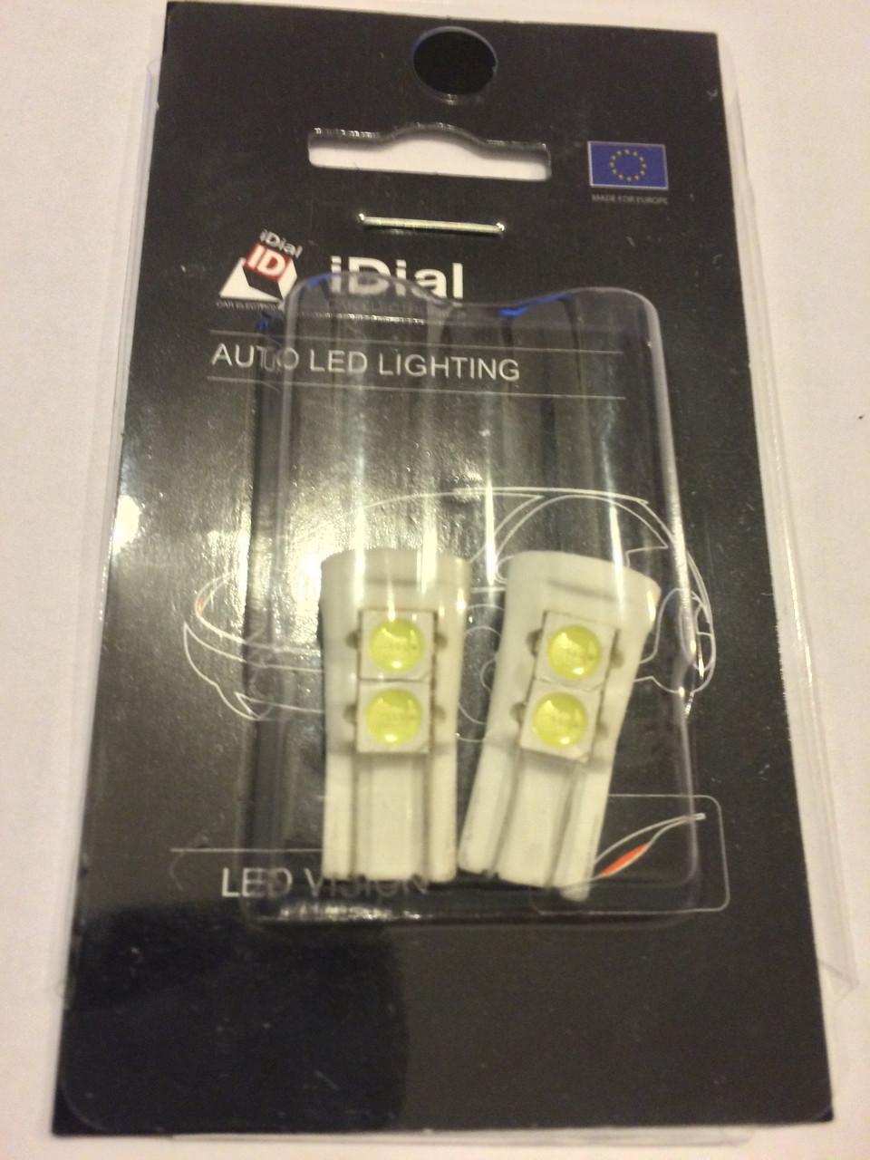 Автомобильные светодиодные лампы AutoApp. Светодиодная лампа повышенной мощности 469 5SMDCanbus ceramic