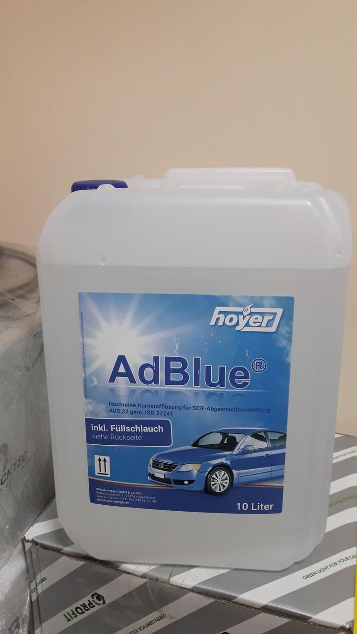 Жидкость для нейтрализации отработанных газов AdBlue (мочевина) Hoyer (10L)
