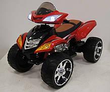 Квадроцикл детский  M 3101(MP3)EBLR черный, зеленый, оранжевый