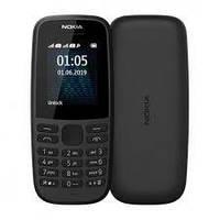 Оригинальный мобильный телефон Nokia 105  2 сим,1,4 дюйма,800 мА/ч.