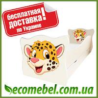 Кровать детская (ліжко дитяче) Тигренок фигурное Animal
