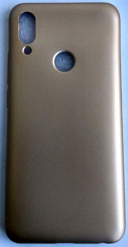 """Силиконовый чехол """"Rock"""" для Meizu Note 9 золотой"""