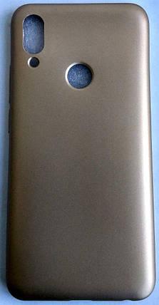 """Силиконовый чехол """"Rock"""" для Meizu Note 9 золотой, фото 2"""