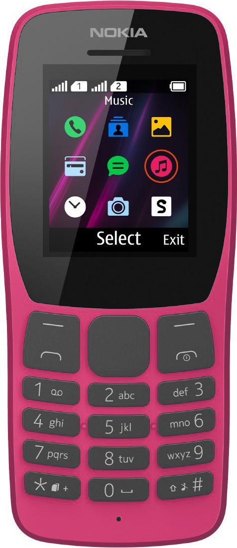 Мобильный телефон Nokia 110 TA-1192 DS Pink Гарантия 12 месяцев