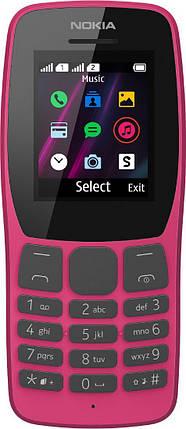 Мобильный телефон Nokia 110 TA-1192 DS Pink Гарантия 12 месяцев, фото 2