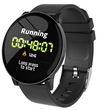 Часы Smart Watch W8/AT2 black Гарантия 1 месяц, фото 2