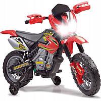 Детский электромобиль Мотоцикл аккумулятор 6V FEBER Motocykl Na Akumulator Cross 12223